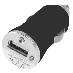 DC 5V / 1A USB Car Charger for Galaxy SIV / i9500 / SIII / i9300 / i8190 / S7562 / i8750 / i9220 / N7000 / i9100 / i9082 / BlackBerry Z10 / HTC X920e / Nokia / Other Mobile Phones (Black)