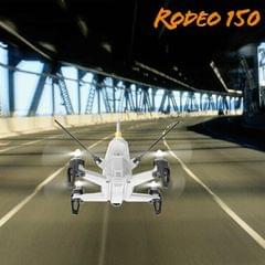 Walkera Rodeo 150 RC Quadcopter with 600TVL Camera / 5.8G Real-time Image Transmission (White)