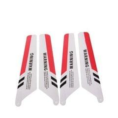 Replace Main Red Color Blades Set for Syma S107 RC Helicopters (Red)