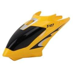 Replace Canopy for Syma S107 RC Helicopters (Yellow)