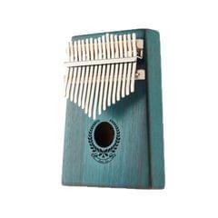 Garland Carimba 17 Notes Thumb Piano Beginner Finger Piano Musical Instrument (Blue)