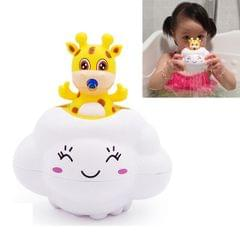 3 PSC Fallow Deer Rain Cloud Children Baby Bathing Beach Play Toys (White)