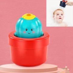 3PCS Baby Shower Play Toys Children Shower (Cactus)