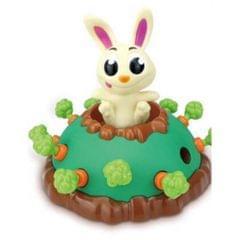 Creative Fun Multiplayer Desktop Game Electric Jumping Rabbit Pull Radish Scary Toy