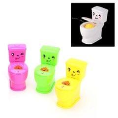 3 PCS Mini Spray Water Jet Toilet Children Creative Whole Toy Spoof Small Toys (Random Color Delivery)