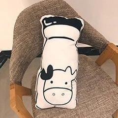 Double-Sided Cute Creative Pillow Cushion Sofa Pillow (Milk bottle)