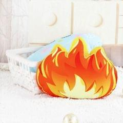 Cartoon Simulation Cactus Pillow Creative Nordic Fresh Fire Cloud Cushion Removable And Washable Cack Birthday Gift (Fire-S)