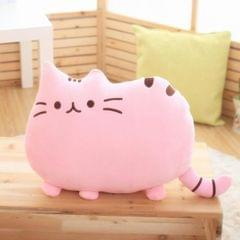 3 PCS Soft Plush Stuffed Animal Doll Anime Toy Cute Cushion (Pink)