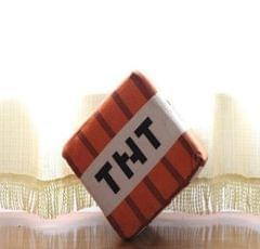 Minecraf JJ geek Plush Toy Doll Grass Square Pillow TNT Pillow Animation Around (TNT Square 20cm)