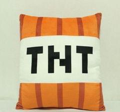 Minecraf JJ geek Plush Toy Doll Grass Square Pillow TNT Pillow Animation Around (Pillow 40cm)