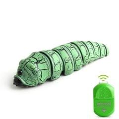 9910A Infrared Sensor Remote Control Simulated Insect Creative Children Electric Tricky Toy Model (Green)