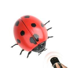Infrared Sensor Remote Control Simulated Insect Tricky Creative Children Electric Toy Model (Ladybug)
