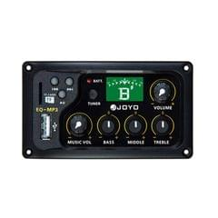 JOYO EQ-MP3 3 Bands EQ Acoutsic Guitar Equalizer Independent Music Volume Control With Guitarra Tuner and TF Card Slot