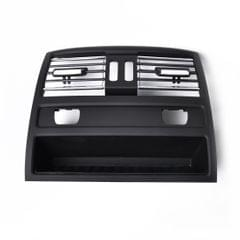 Car Plating Rear Console Grill Dash AC Air Vent with Heating Hole 64229158312 for BMW 5 Series