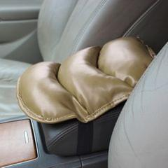 Comfortable Automotive Armrest Mats, Size: 28x20cm (Khaki)