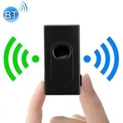 BT500 2 in 1 Bluetooth Audio Transmitter Receiver Adapter Portable Audio Player (Black)