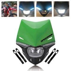 Speedpark Cross-country Motorcycle LED Headlight Headlamp Assembly for (Green)