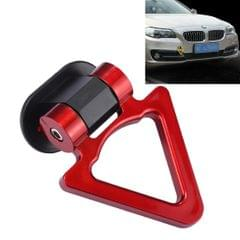 Car Truck Bumper Triangle Tow Hook Adhesive Decal Sticker Exterior Decoration (Red)