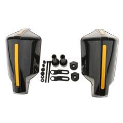 1 Pair Universal Motorcycle Scooter Hand Guards Handguard for 7/8 Bar Black