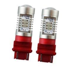 2pcs 3156 3157 21SMD LED Bulb For Car Turn Parking Signal Light Red