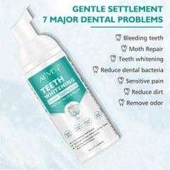 Teeth Whitening Mousse Foam Toothpaste Cleaning Gums Freshen Breath 60ml