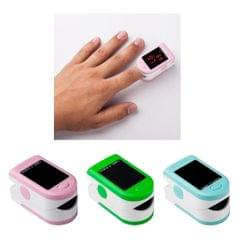 Fingertip Pulse Oximeter LED Display Blood Oxygen Pulse Rate Monitor Blue