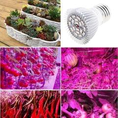 LED Plant Grow Lamp Bulb for Hydroponic Greenhouse E14 28W Full Spectrum
