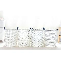 Foldable Storage Basket Toy Clothes Buckets Laundry Hamper Makeup Box ##4
