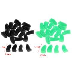 20pcs Soft Claws Paws Grooming Covers for Pet Cat Kiteen M