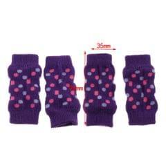 4 Pcs Winter Snow Warm Dog Leg Socks for Small Medium And Elderly Dog M