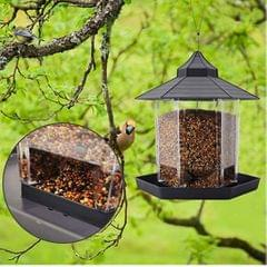 Bird Feeder Hanging Clear  Outdoor Hanging Suction Seed Feeders