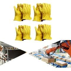 Heavy Duty Industrial Safety Gloves Construction Leather Work Gloves S