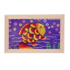natural wooden photo frame picture frame art frame desktop display  30x20cm