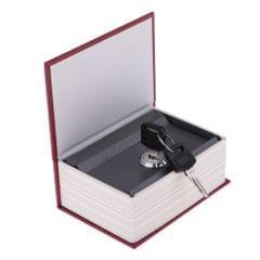 Dictionary Creative Imitation Book Safe Box Mini Piggy Bank Red