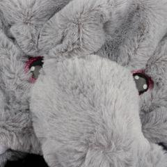 Rabbit Ears Movable Hat Cute Animal Bunny Plush Cap for Kids Elephant