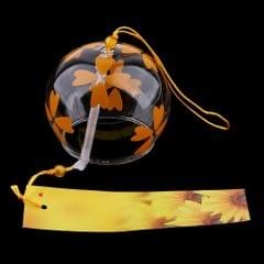 Japanese Style Glass Windchime Hanging Blessing Bells Home Wind Chimes 13