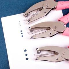 Single Hand Held Paper Punch Paper Crafts Tickets Hole Puncher Round 1.5mm