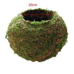 Creative Moss Ball Flower Pot Planter Bonsai Plant Holder Home Garden 18cm