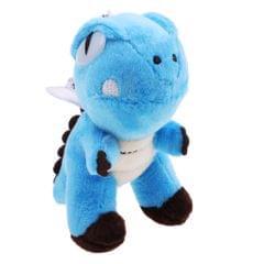 Mini Plush Dinosaur Pendant Stuffed Doll Keychain Backpack Accessories Blue