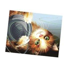 Cartoon Cat DIY 5D Diamond Painting Embroidery Cross Crafts Stitch Kit 4#