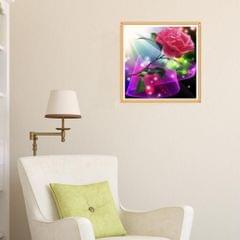5D Diamond Painting Embroidery Cross Stitch Kit Home Decor Single Flower