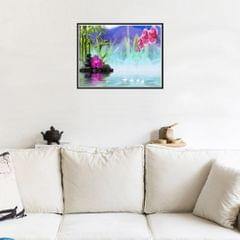 DIY 5D Scenic Diamond Painting Embroidery with Cross Stitch Kit Dream Lake