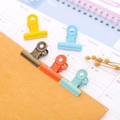 10Pcs Metal Hinge Clips Bulldog Paper Clip Clamp/ File Binder Clips Bronze