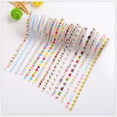 Japanese Washi  Paper Tape Colour Cartoon Handbook Sticker Bird
