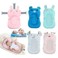 Bath Tub Pad Shower Nets Newborn Bath Seat Bathtub Bath Pads Pink Rabbit
