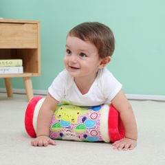 Tummy Time Roller Rattle Farm Early Learning Centre Pink Cat