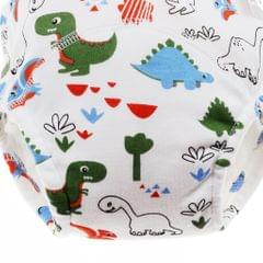 Baby Training Pants Learning Pants Washable Diapers M (90cm) Dinosaur