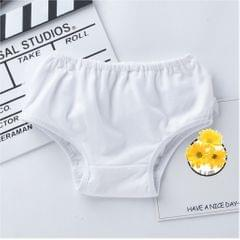 Baby Girls Shorts Pants Diaper Cover Bloomers  M for 0-6Months White