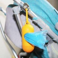 Portable Baby Diaper Nappy Discarded Bag Box Dispenser Holder Orange