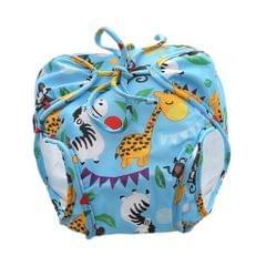 Baby Swim Diaper Pants Nappy Cover Blue(5-8.5KG)